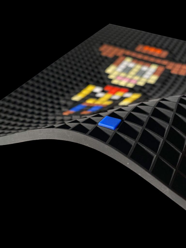 Rejilla de arte de píxeles A4